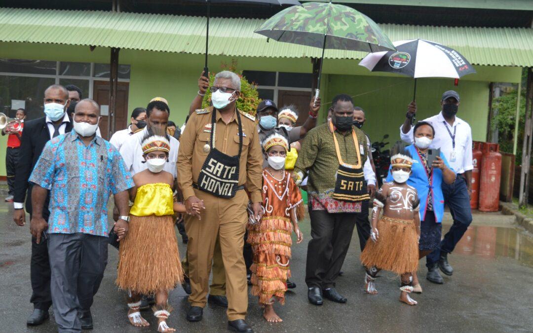 Sekolah Taruna Papua Terapkan KBM Berbasis Teknologi, Wabup Mimika: Saya Bangga